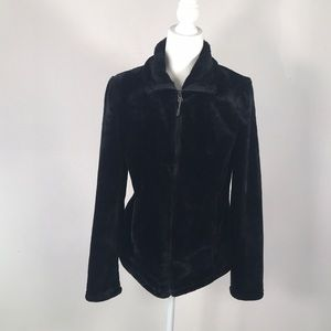 32 Degrees Heat Black Fur  Jacket. Size: S. New